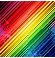 Rainbow diagonal stripes and colorful paint