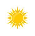sun bright vector image vector image
