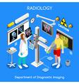 XRay Hospital 01 People Isometric vector image vector image