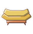 brand sofa icon cartoon style vector image