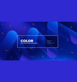 color background design fluid gradient shapes vector image vector image
