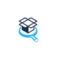 find box logo icon design vector image