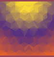 gradient triangle background vector image vector image