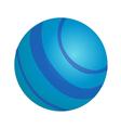 icon planet vector image