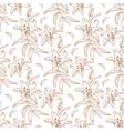 lily pattern floral pattern modern elegant vector image