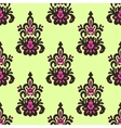 Seamless Damask Patten vector image vector image
