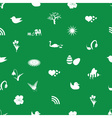 spring icons pattern eps10 vector image vector image