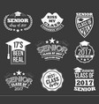 collection logo badges and labels vector image vector image