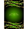 green gold luxury background vector image vector image