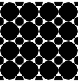 Polka dot geometric seamless pattern 2303 vector image vector image