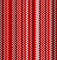 seamless red chevron pattern background retro vector image