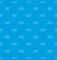 synthesizer pattern seamless blue vector image vector image