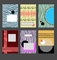 abstract design covers vector image