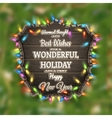 Christmas poster design template EPS 10 vector image