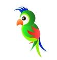 Parrot Logo bird vector image
