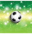 Football soccer background vector image vector image