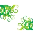Green decorative background