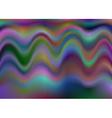 Multicolor wave background vector image vector image