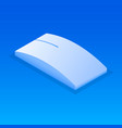 wireless mouse icon isometric style vector image
