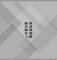 abstract gray geometric squares overlapping with vector image vector image
