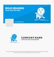 blue business logo template for death frag game vector image vector image