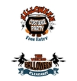 Halloween holiday invitations vector image vector image