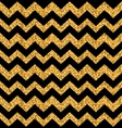 Glitter Seamless Zigzag Texture vector image