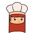 chef hat design vector image vector image