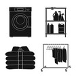 design of laundry and clean symbol set of vector image