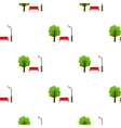 Park icon in cartoon style isolated on white vector image vector image