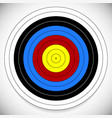 printable archery arrow target with cross