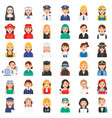 profession and job related icon set 1 female