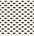 seamless black and white hand drawn wavy lines vector image vector image