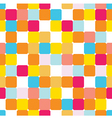 seamless pattern with colorful bricks vector image vector image