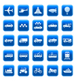 Transport icons buttons vector | Price: 3 Credits (USD $3)