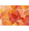 Abstract triangle polygonal background in eps vector image vector image