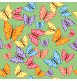 Butterflies Seamless Texture vector image