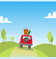 car travel holidays vector image