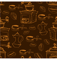 coffee handdraw seaml 2 380 vector image
