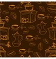 coffee handdraw seaml 2 380 vector image vector image