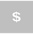 Dollar computer symbol vector image vector image