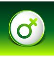 Female sign icon woman gender feminine vector image vector image