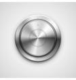 Metallic knob vector image vector image