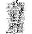 your attitudes are the clothes of your soul text vector image vector image