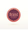 arabic style logo design template vector image