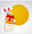 elements of easter background vector image vector image