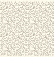 subtle seamless pattern in pale color vector image