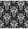 ancient grecian floral seamless pattern greece vector image vector image
