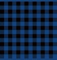 blue lumberjack seamless pattern vector image vector image