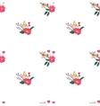 Floral Seamless Vintage Wildflowers Pattern vector image vector image